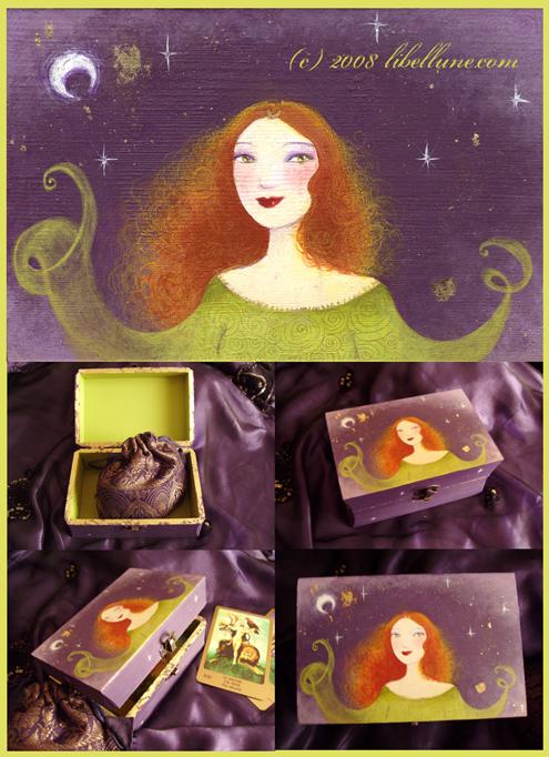 Boîte à Tarot par Lune