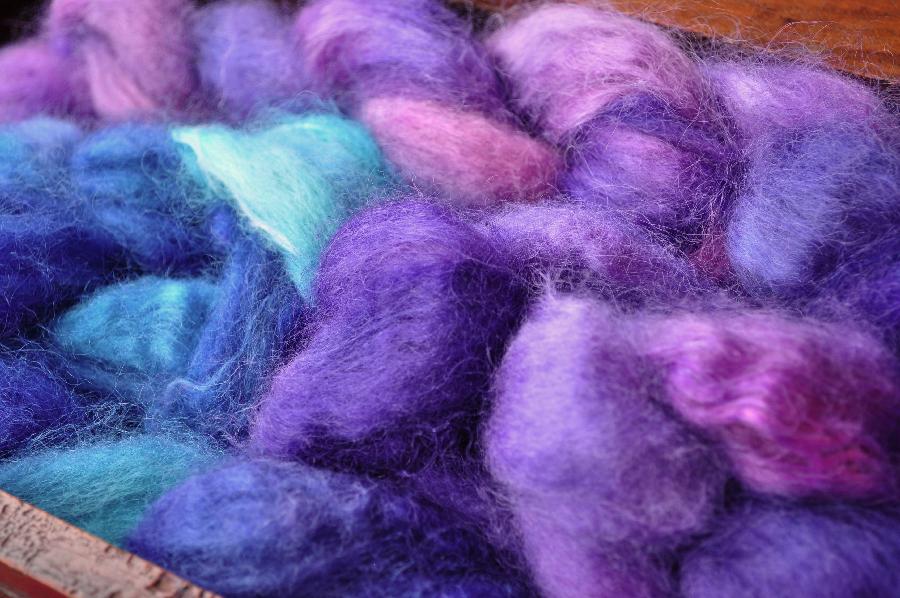 teinture acide et soie
