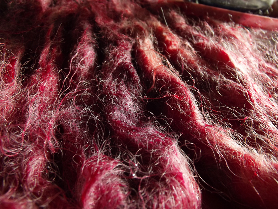 teinture laine