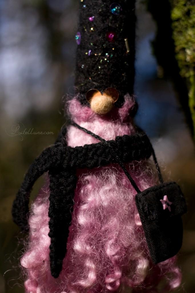 nain en laine feutré